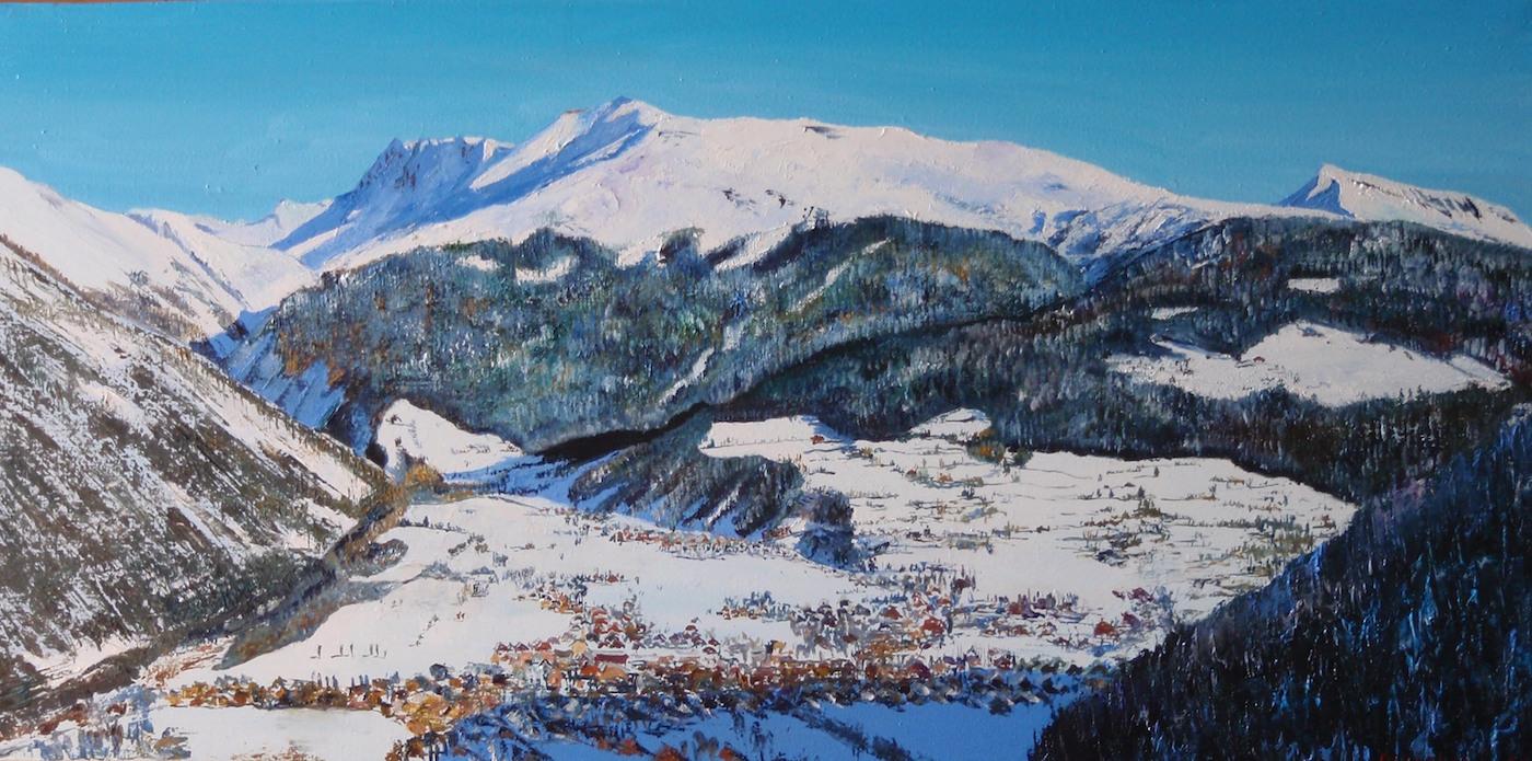 Village au coeur des montagnes
